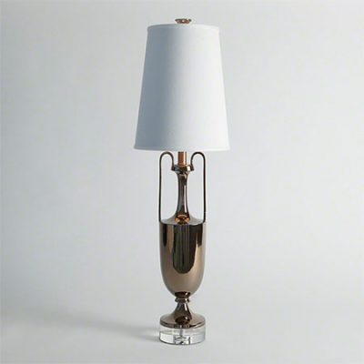 Bronze Grecian Amphora Lamp