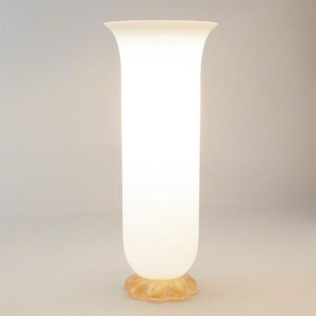 Golden Glass Rope Lamp