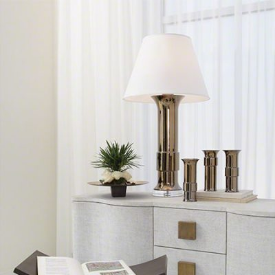 Lamp with Collar Vases