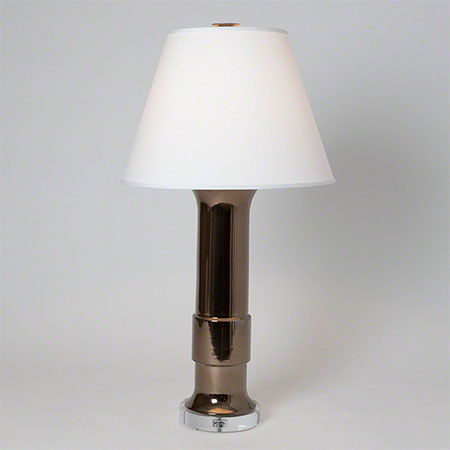 Bronze Low Collar Lamp
