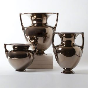 Bronze Grecian Amphoras