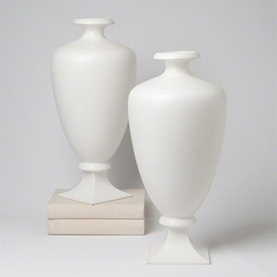 Square Round Vase