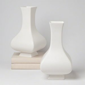 Square Slope Vase