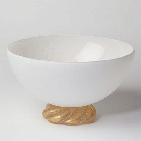 Golden Glass Rope Bowl