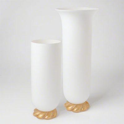 Golden Glass Rope Vase