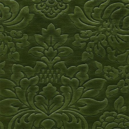 "La Scala Damask in ""Exquisite Emerald"""