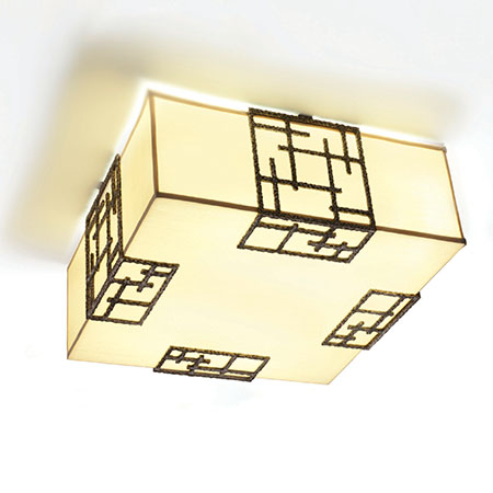 Ormolu Ceiling Light