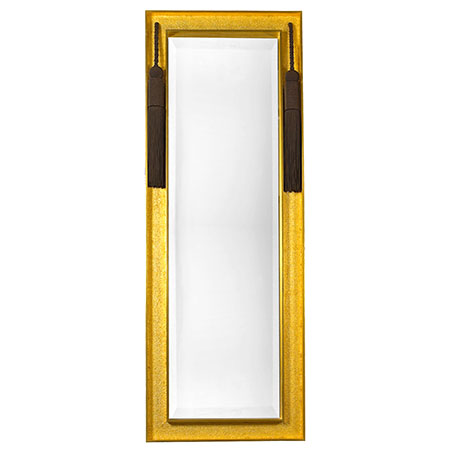Bronzino Mirror with Tassel