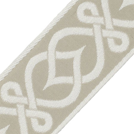 """Celtic Knot Border in """"Sage"""" 