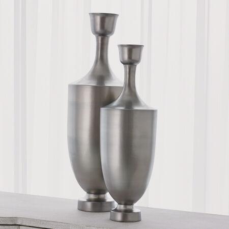 Porthos Vase (Matte Platinum)