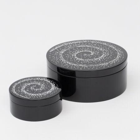 Vortex Round Boxes