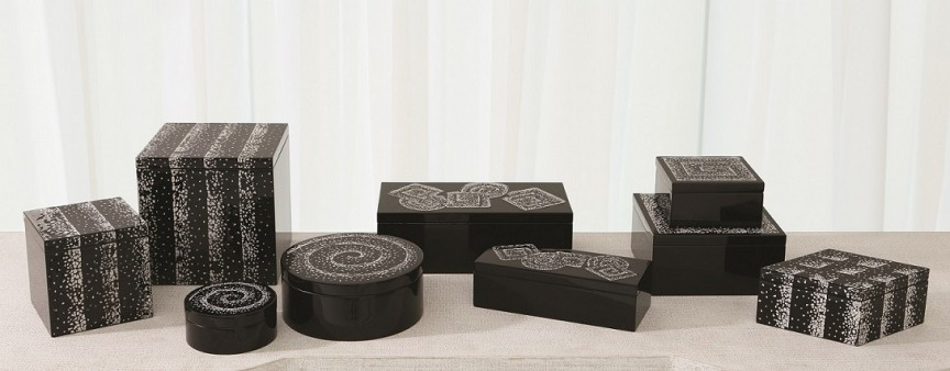 Elegant boxes | The Roger Thomas Collection for Studio A Home