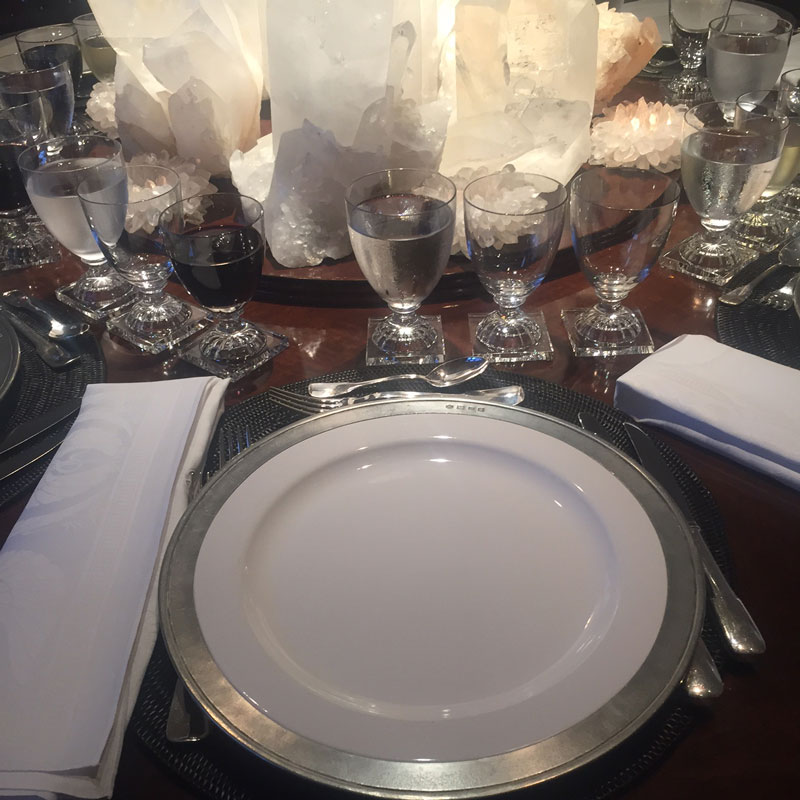 Dinner in Belvedere | The Roger Thomas Collection
