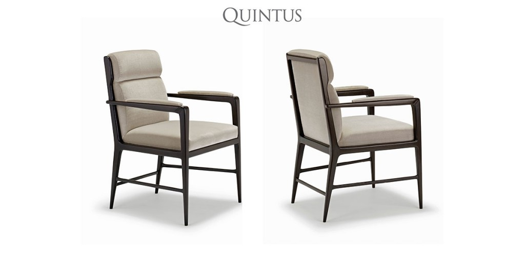 Luca Dining Arm Chair by Elisa Carlucci