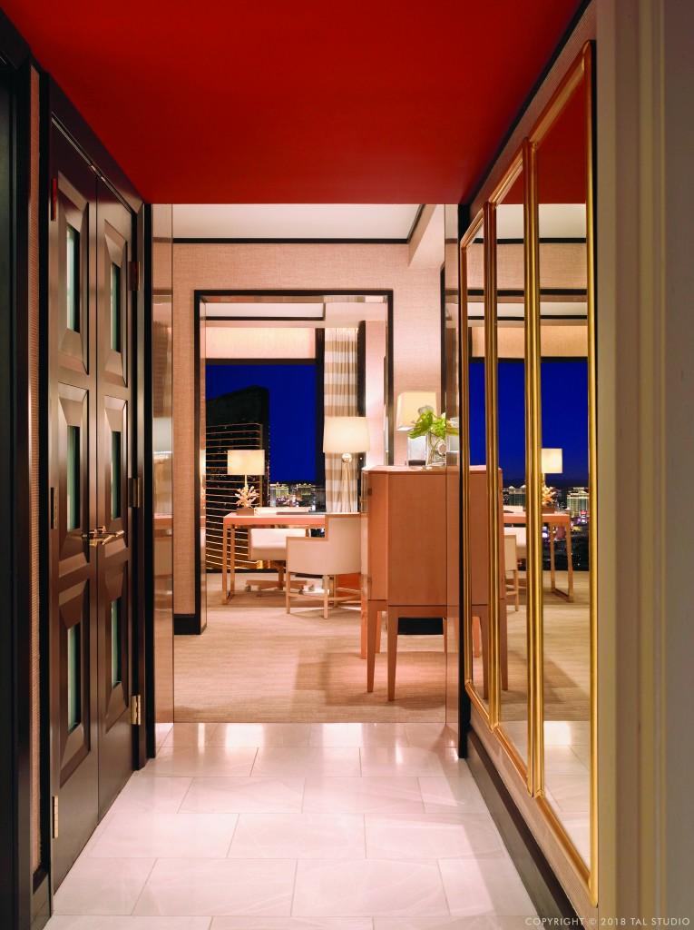 Room entrance at Encore Las Vegas