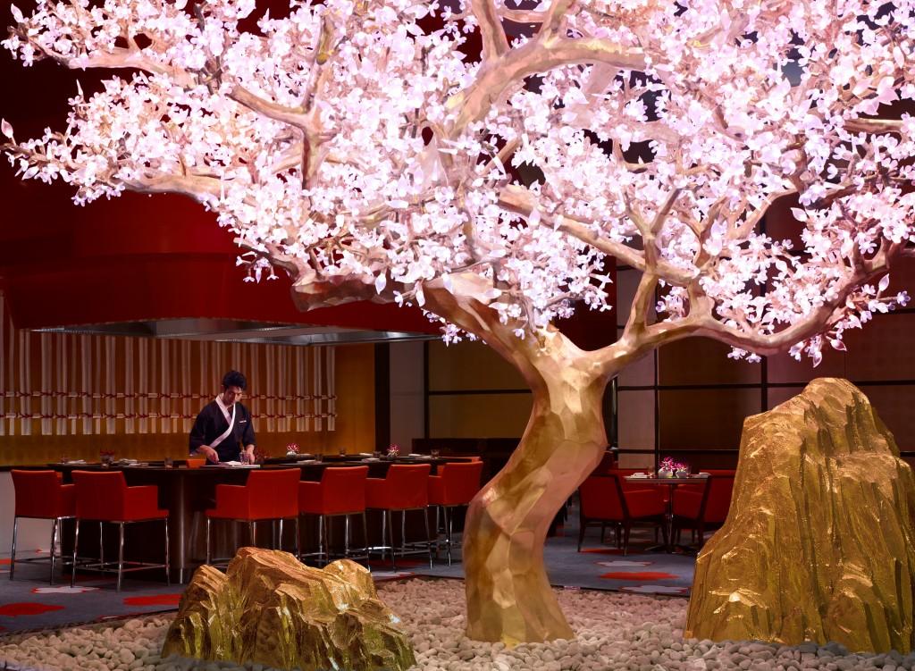 Teppanyaki section at Mizumi - Wynn Palace Cotai