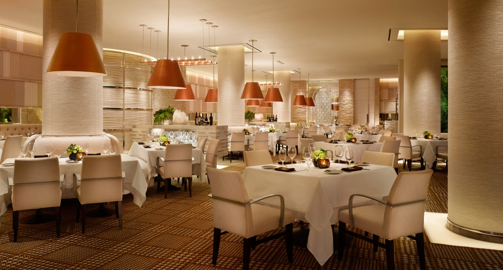 After: Main dining room at SW Steakhouse - Wynn Las Vegas