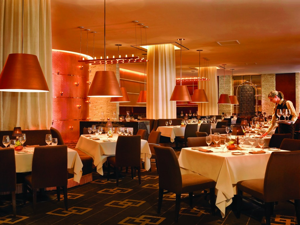 Before: Main dining room at SW Steakhouse - Wynn Las Vegas